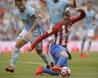 El Atlético, contra el Celta y las dudas