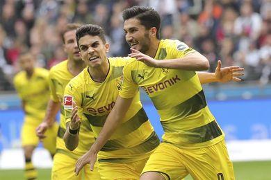 El Eintracht remonta dos goles al Dortmund