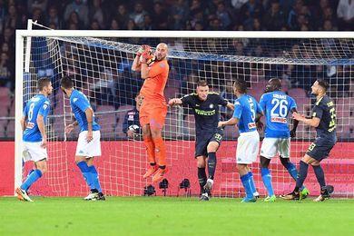 El Nápoles se atasca ante la defensa del Inter, pero sigue líder (0-0)