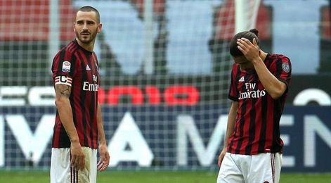 Bonucci, suspendido dos partidos, se perderá el Milan-Juventus