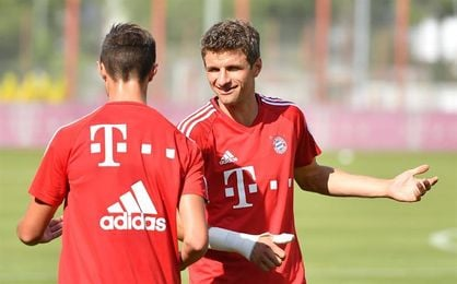 Thomas Müller estará tres semanas de baja por una lesión muscular