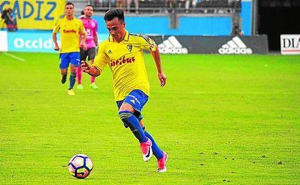 Álvaro García es el jugador más destacado del Cádiz.