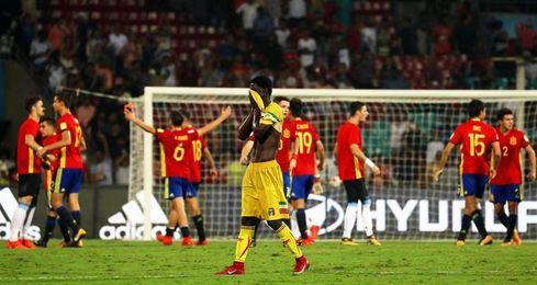 3-1. España puede con Mali y jugará la final del Mundial de la India