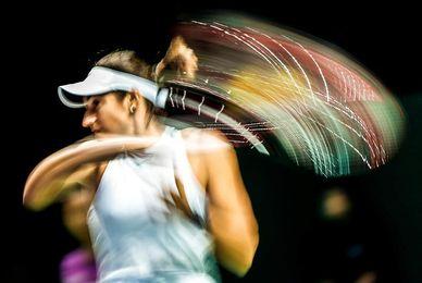 Carolina García remonta ante Svitolina y aún sueña con las semifinales