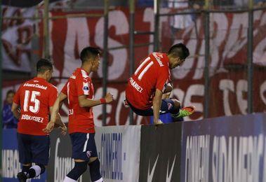 1-4. Independiente se pone el traje copero y golea a un desconocido Nacional