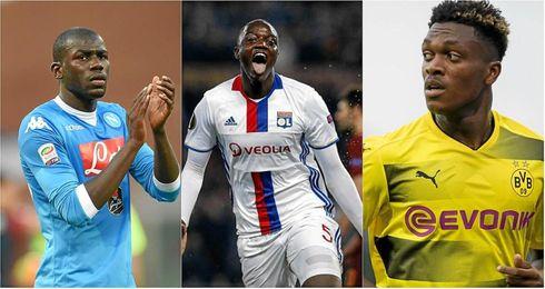 Zagadou, Diakhaby y Koulibay, seguidos por el Barça.