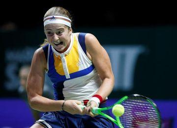Ostapenko se despide con una victoria ante Pliskova