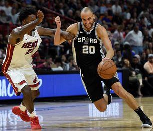 Spurs tienen ya mejor marca; derrotas sorpresa de Cavaliers y Wizards
