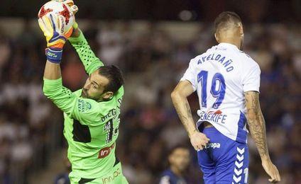 Diego López pide paso en el dilema de la portería del Espanyol