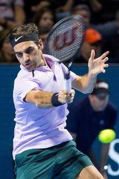 Federer remonta a Mannarino y llega a semifinales con Del Potro y Cilic
