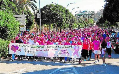 El color rosa volvió a invadir el pasado domingo 22 las calles de Morón.