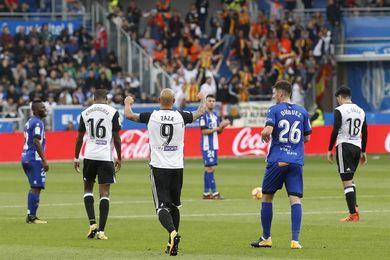 1-2. Zaza y Rodrigo confirman las aspiraciones del Valencia