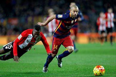 El Barça aterriza en Bilbao sin Mascherano, baja por un proceso febril