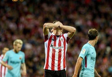El Athletic y Ziganda vuelven a coger aire con una derrota