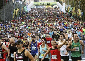 Nuno Costa y Joselyn Brea ganan la 40ª Carrera Pedestre Popular de Santiago