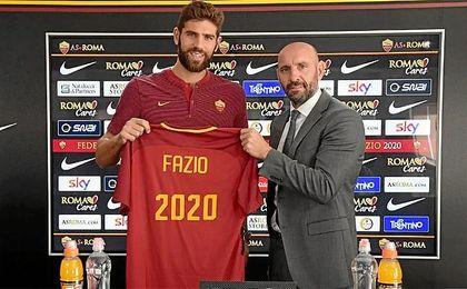 Monchi y Fazio seguirán trabajando juntos.