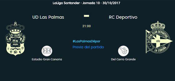 Las Palmas-Deportivo, en directo