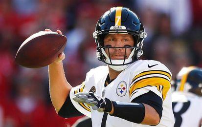 Schuster y Roethlisberger logran marca de Steelers; ganan Eagles y Patriots
