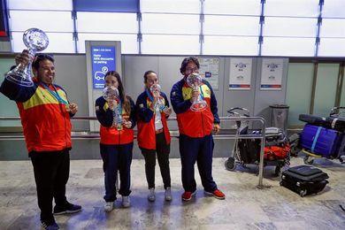 """El equipo español de tiro regresa de Dubai con la intención de """"tomar medidas"""""""
