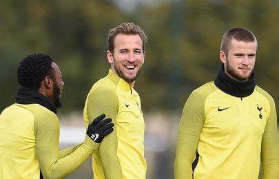 Kane, novedad en entrenamiento del Tottenham antes de recibir al Real Madrid