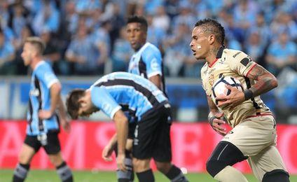 0-1. Gremio pierde en casa pero se medirá con Lanús en la final de la Libertadores