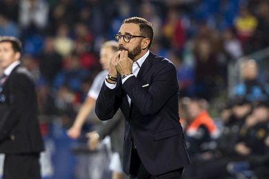 """Bordalás: """"Contra el Betis jugamos un choque bonito, interesante y atractivo"""""""