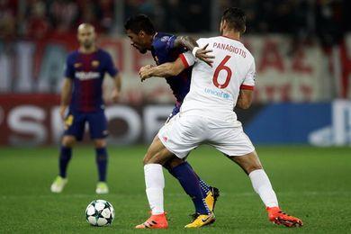 Expediente al Olympiacos por incidentes ante el Barcelona