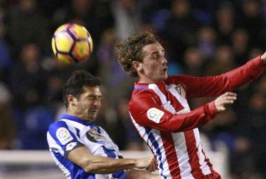 El Atlético, contra la crisis frente al Deportivo