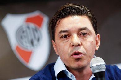 """Gallardo dice que el clásico ante Boca permitirá """"aliviar dolor"""" de la eliminación de Copa Libertadores"""