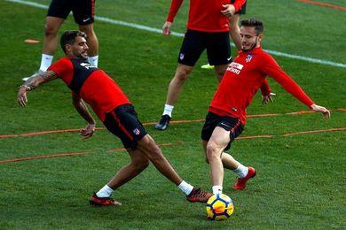 Filipe, Koke y Carrasco, bajas; Toni Moya entra la convocatoria