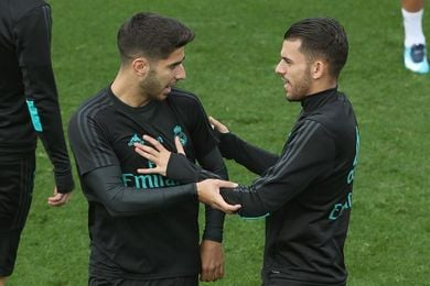 Asensio y el regreso al 4-3-3, soluciones de Zidane ante la crisis