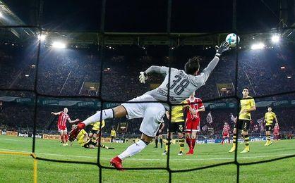 El Bayern, con James, derrota al Dortmund y es más líder