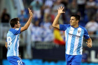 El defensa Diego González y los centrocampistas Jony y Mula, novedades del Málaga