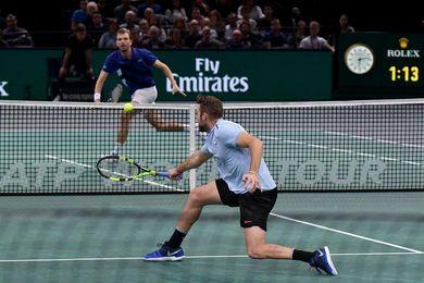 Sock y Krajinovic se juegan la corona en París con Carreño pendiente