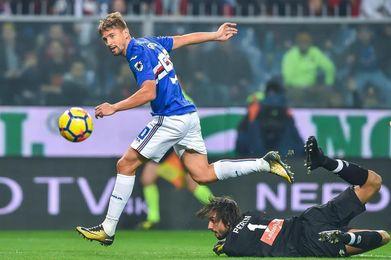 El uruguayo Gastón Ramírez guía el triunfo del Sampdoria en el derbi genovés