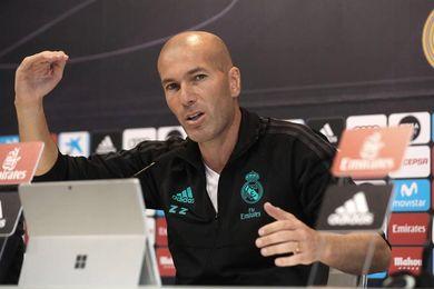 """Zidane: """"No soy el mejor entrenador del mundo, pero tampoco el peor"""""""