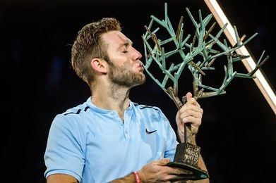 Jack Sock cierra la selecta lista para las Finales ATP