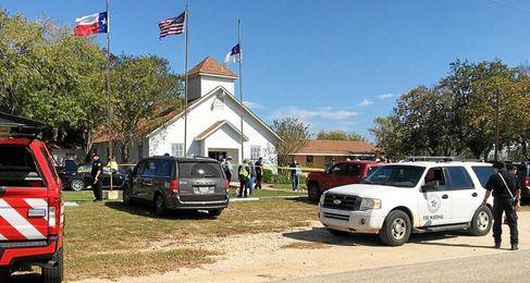 Imagen de la iglesia donde ha tenido lugar el suceso.