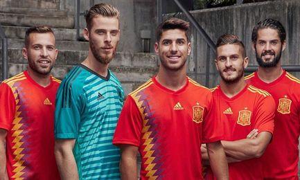 Un efecto óptico en la nueva camiseta de La Roja levanta polémica