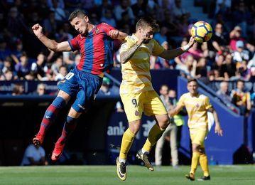 El Girona, invicto contra los rivales directos