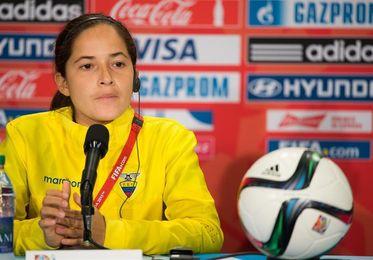 El fútbol femenino de Ecuador está listo para lo Bolivarianos y el Sub´20, dice Arauz