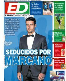 La portada de ESTADIO Deportivo del miércoles