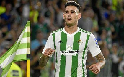 """Sanabria y su futuro: """"Estoy feliz en el Betis"""""""