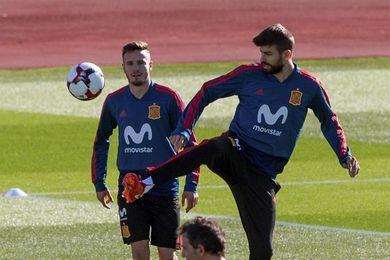 España inicia su preparación del Mundial ante Costa Rica con bajas
