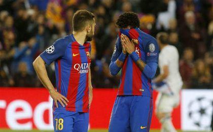 Jordi Alba sí se alegra de que se haya ido Neymar
