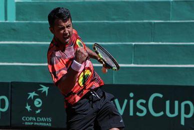 El tenista Hugo Dellien será el abanderado de Bolivia en los Bolivarianos
