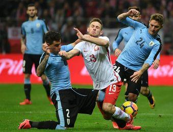 0-0. Uruguay firma el empate ante Polonia en el inicio de su gira europea