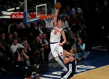 118-91. Porzingis regresa al campo de juego y los Knicks se imponen a los Kings