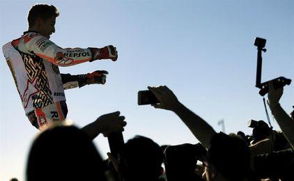 """Marc Márquez entra en el """"Top Ten"""" de campeones mundiales"""