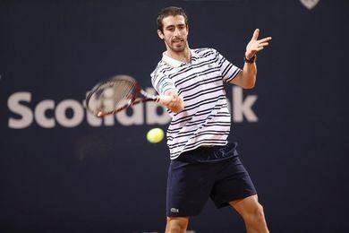 Cuevas vence a Elias y gana por tercera vez el Abierto de tenis de Uruguay